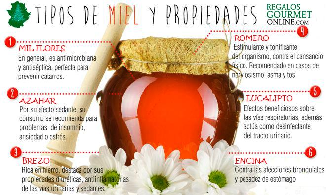 Beneficios de la miel, miel de encina, miel de brezo, miel de azahar, miel eucalipto, milflores, miel de romero