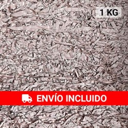1 KG de papel kraft salmón en virutas, relleno para decoración y embalaje