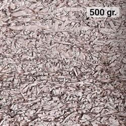 500 gr. de papel kraft salmón en virutas, relleno para decoración y embalaje