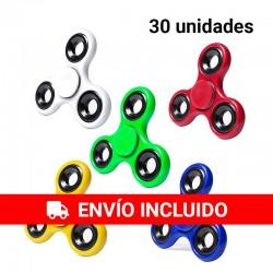 copy of Pack de 50 Spinners de metal en colores variados.