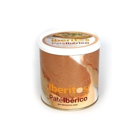 Iberian gourmet pâté iberitos 700g can for your best appetizers online