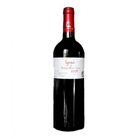 Syrah Ruiz Torres red wine with denomination of origin Extremadura