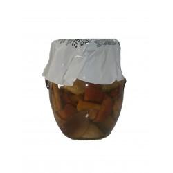Mezcla de setas en aceite vegetal