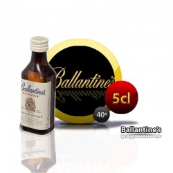 Miniature whiskey bottle Ballantine's