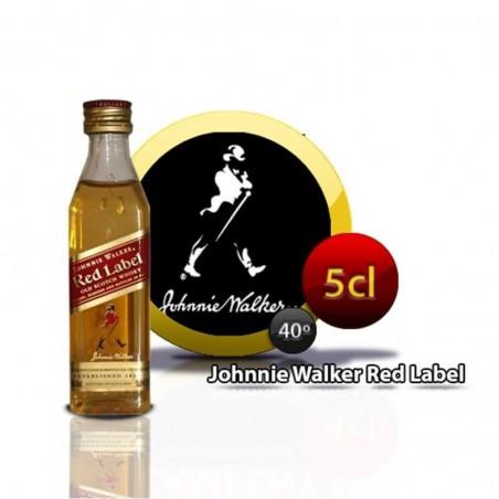 Miniature whiskey bottle Johnnie Walker E/R
