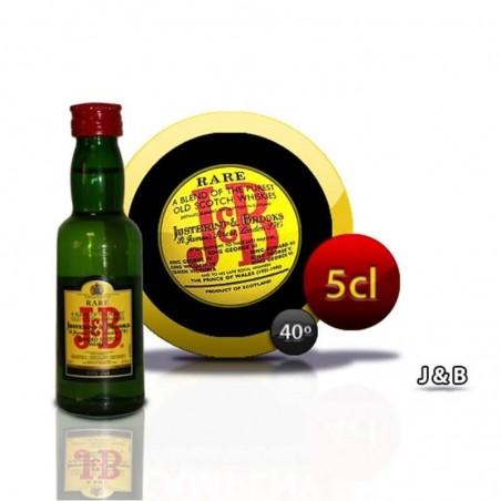 Botella miniatura whisky JB