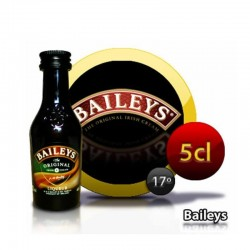 Bottle miniature cream of whisky Baileys