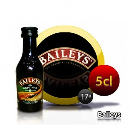 Bottle miniature cream of whisky Baileys