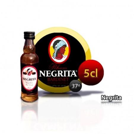 Miniature bouteille de rhum Negrita 5 ans