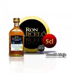 Miniature Barcelo rum