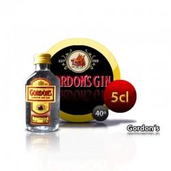 Miniature bouteille de gin...