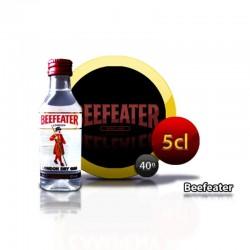 Botella miniatura ginebra Beefeater