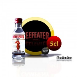 Ginebra Beefeater botella en miniatura