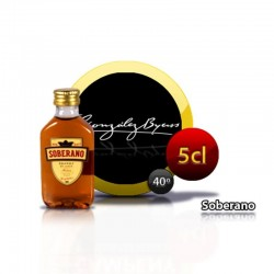 Miniature brandy Soberano
