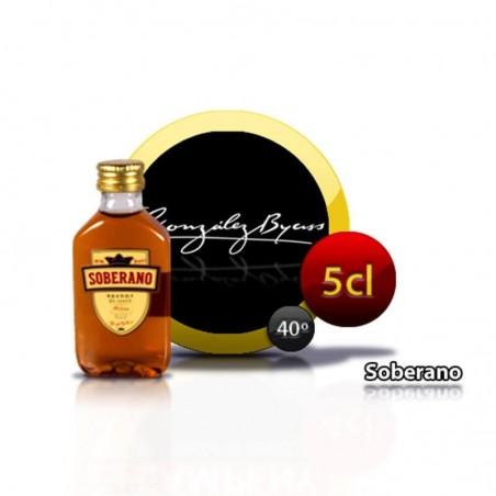 Bouteille de cognac Soberano