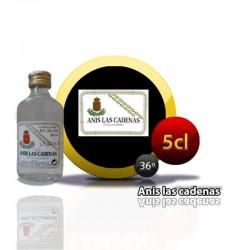Mini bouteille d'anis Las Cadenas