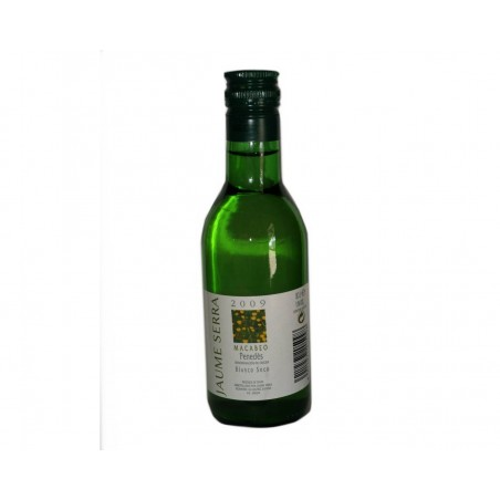 Little bottle white wine Penedes Jaume Sierra