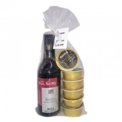 Pack of wedding wine Arnáiz and six pate