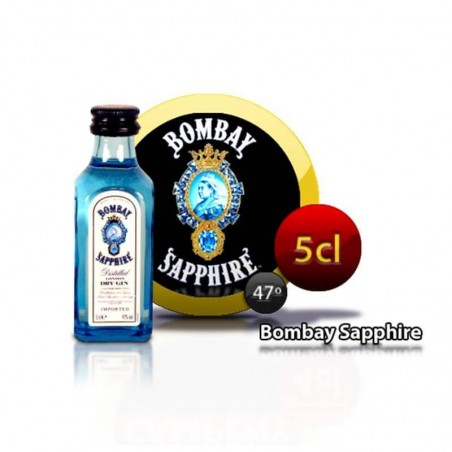 Miniature Bombay Sapphire gin