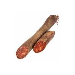 Chorizo Ibérico primera cular envasado al vacío mitades