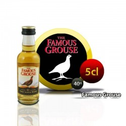 Le whisky miniature Famous Grouse