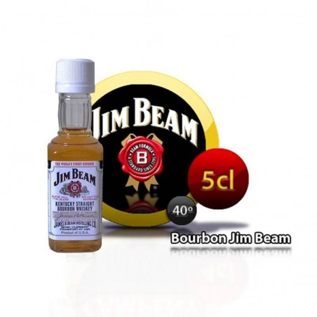 Bourbon Jim Beam miniature