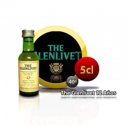 The Glenlivet 12 años miniatura para regalos de comunión