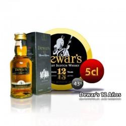 Miniatura whisky Dewar´s 12...