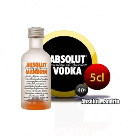 Absolut Mandrin Vodka miniatura