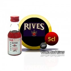 Miniatura vodka Red Rives