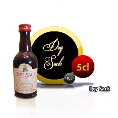 Miniature Dry Sack with wine Jerez Dry Sack