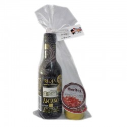 Wine wedding pack Old Rioja with two pates