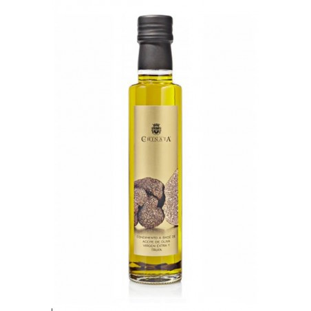 Huile d'olive extra vierge aux truffes