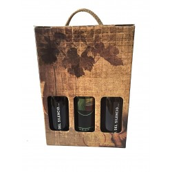 Case wines for gift.