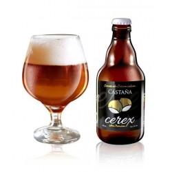 Bière à la châtaigne Cerex