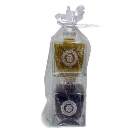 Pack détail mariage (huile d'olive  et vinaigre Jerez)