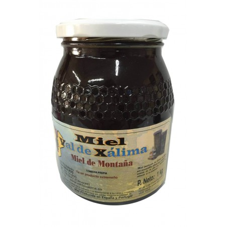 Miel de montagne au format 1 kg