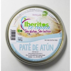 Lactose-free tuna pate and gluten suitable for celiacs from Iberitos