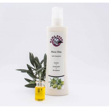 Leche limpiadora mamaclean para limpiar y revitaliar la piel
