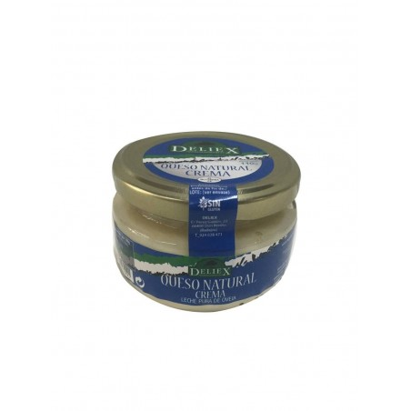 Tarro de crema de queso de oveja Deliex