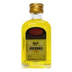 Panizo miniature herbs liqueur