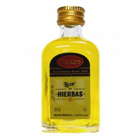 Miniature liqueur aux herbes Panizo