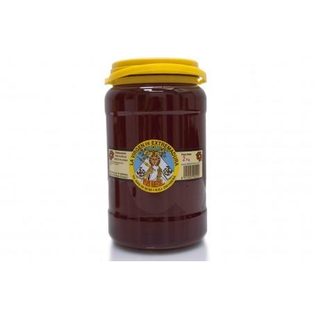 Miel de plusieurs varietes de fleurs (2 kg)