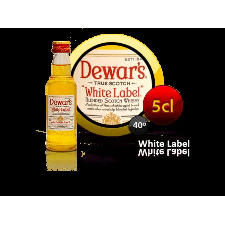 Whisky mini white label 5cl