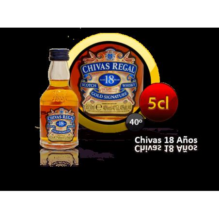 Chivas Regal 18 años en miniatura para eventos