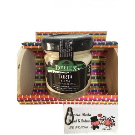 Pack miniature coffre avec galette de fromage Deliex