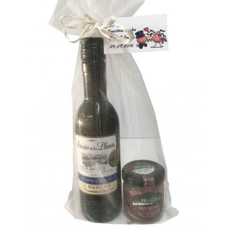 Pack Señorio de los Llanos vin avec pot de pâté Deliex