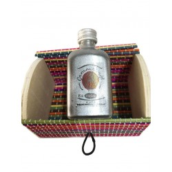 Miniature trunk with liquor of candy of Panizo