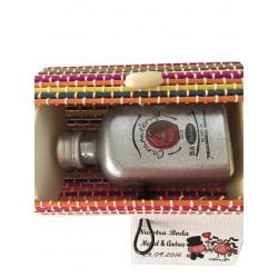 Miniature coffre avec liqueur de 5cl
