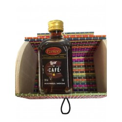 Miniature liquor of coffee with trunk